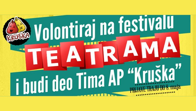 Teatrama | Poziv za volontere